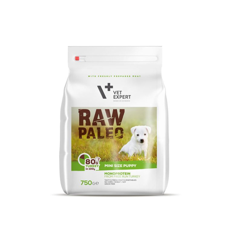 Raw Paleo Puppy Mini 750 g