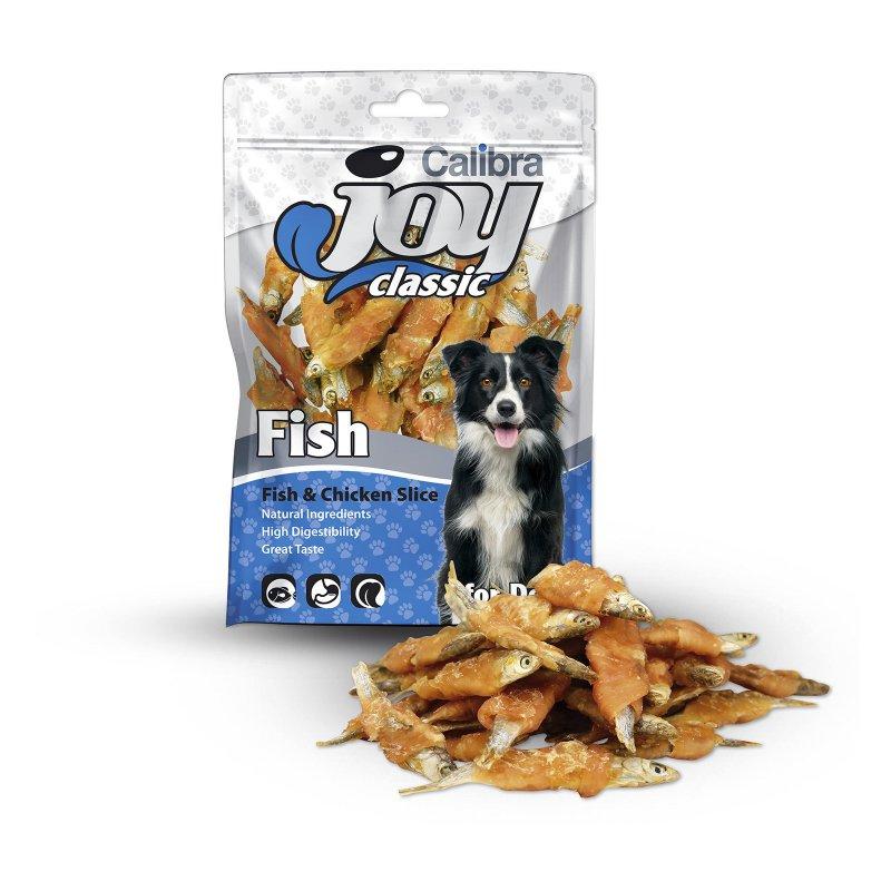 Calibra Joy Dog Classic FishChicken Slice 80g