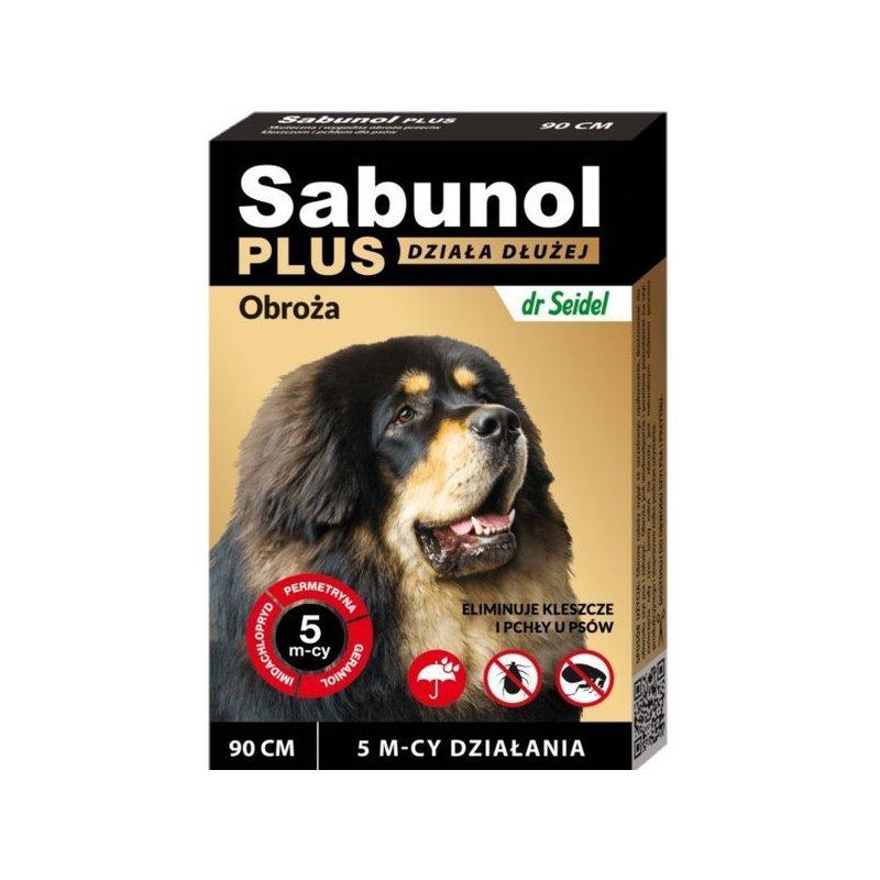Sabunol plus 90 cm Obroża dla Psa
