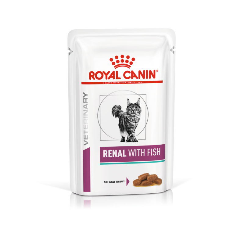 Royal Canin vd Cat Renal with Fish 85g