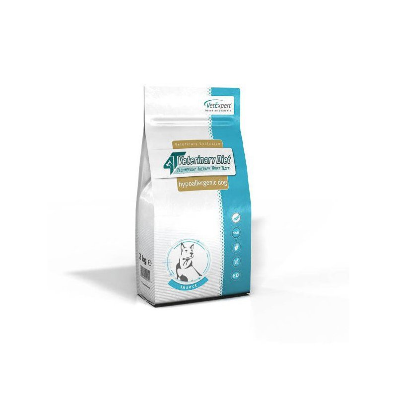 4T Veterinary Diet Dog Hypoallergenic Insect 2 kg