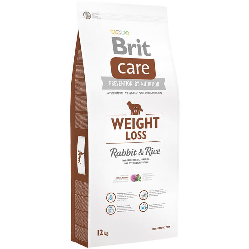 BRIT CARE PIES WEIGHT LOSS (LIGHT) RABBIT & RICE 12 KG