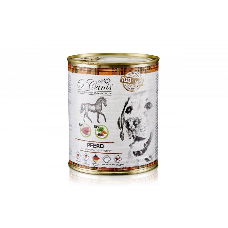 O'Canis Konina z warzywami i siemieniem ln. 800 g