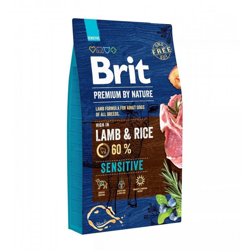 Brit Premium By Nature Sensitive LambRice 8 kg