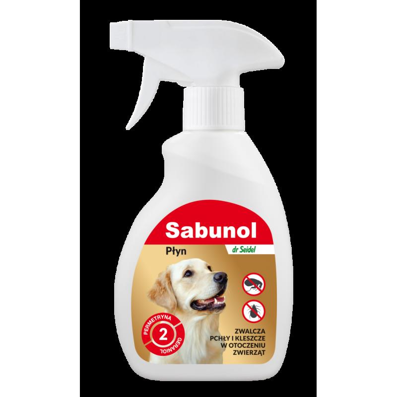 Sabunol płyn do zwal. pcheł w otocze zwierz 250ml