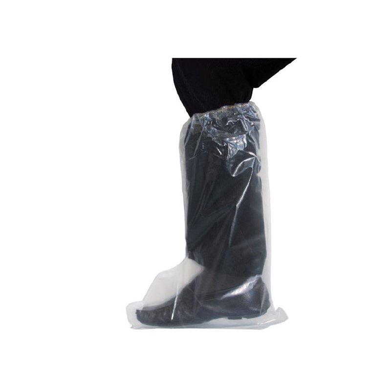 Buty jednorazowe długie z gumką POLNET 1 op 50szt