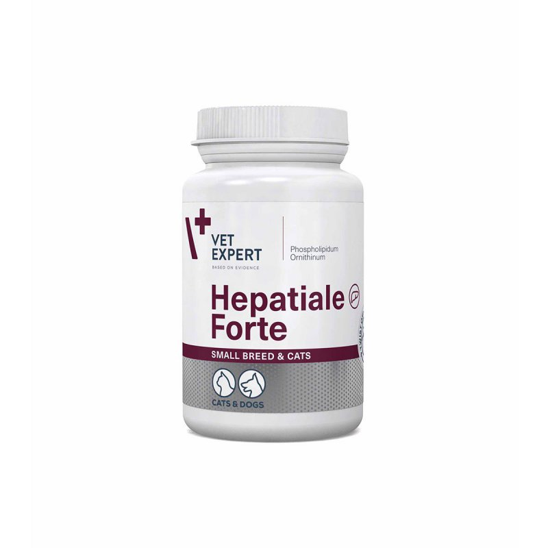 Hepatiale Forte Small Breed  Cats 40 kaps.