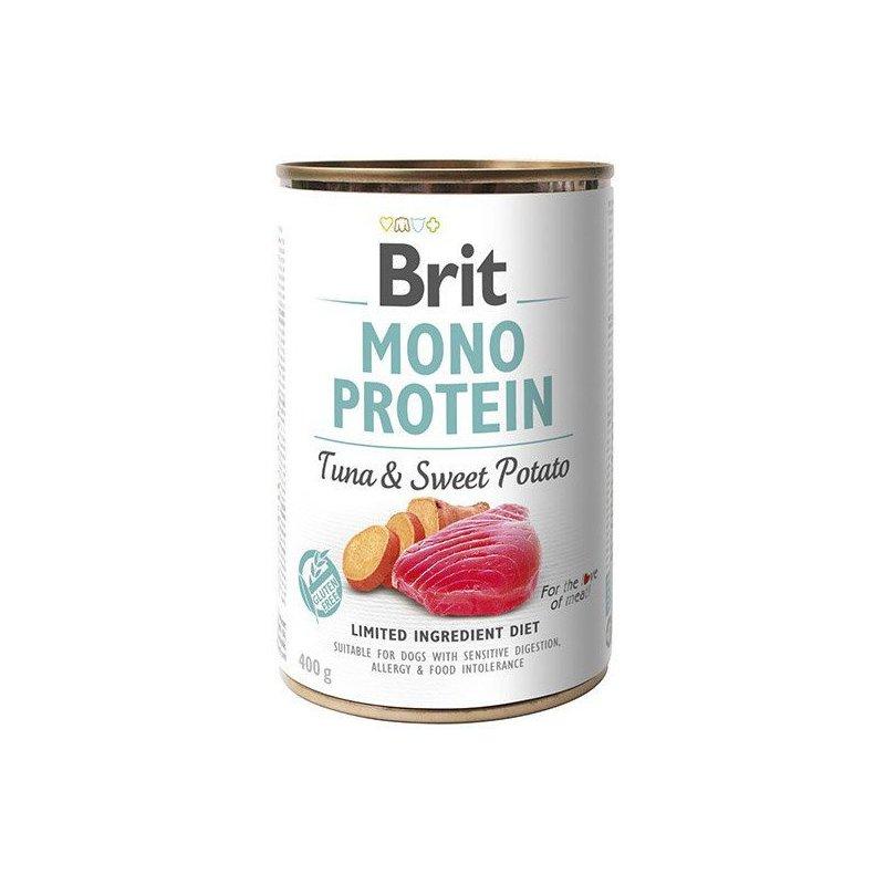 Brit Care Mono Protein TunaSweet Potato 400g