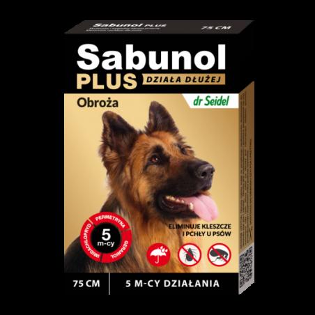 Sabunol plus 75cm obroża dla psa