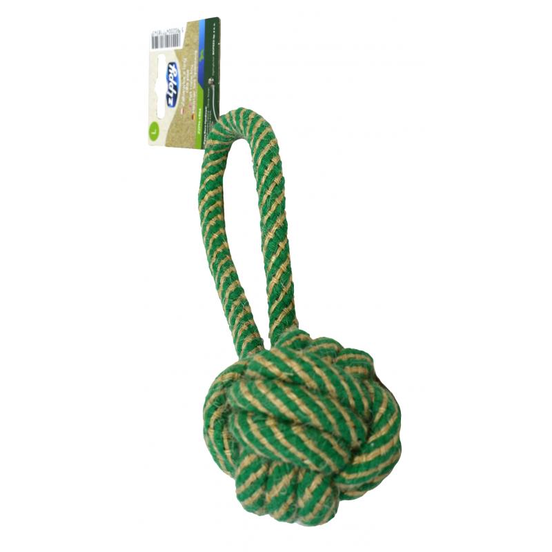 Zabawka dla psa Kula z uchwytem zippy